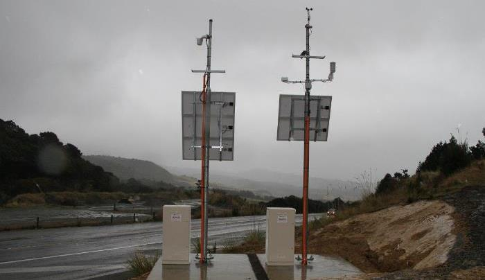 Automated weather station Leith Saddle Dunedin
