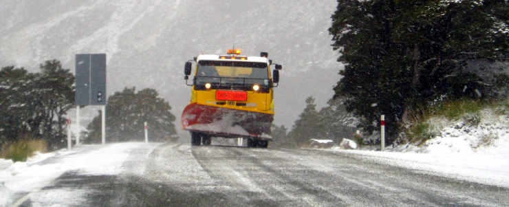 NZ Transport Agency road gritting